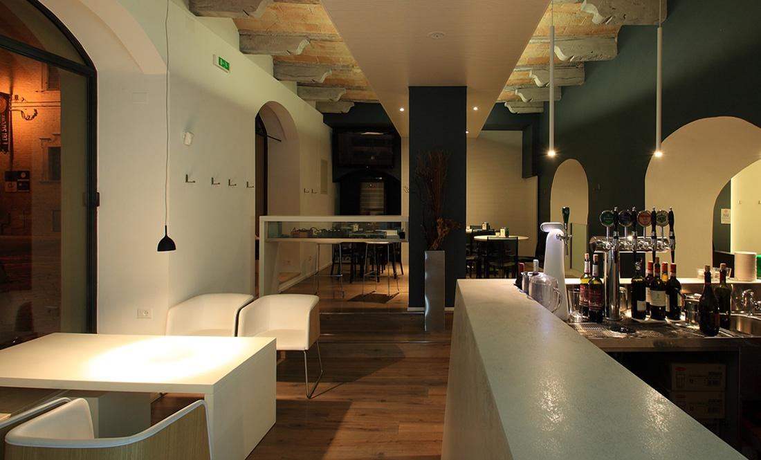 Pergolesi - Arredare un locale bar - Bocchini arredamenti